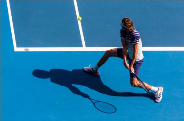 Alexander Zverev at the Australian Open