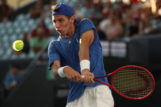 Alexei Popyrin 2020 Adelaide ATP
