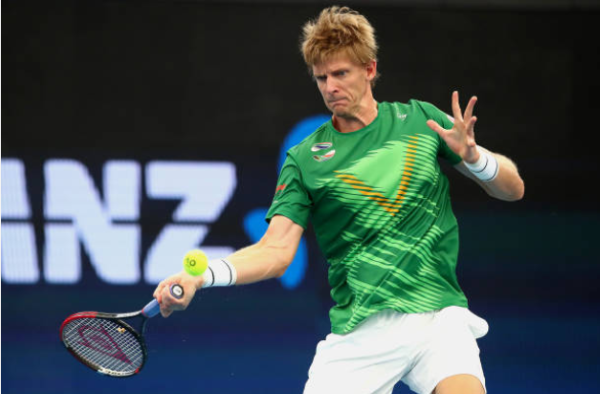 Kevin Anderson at the New York Open