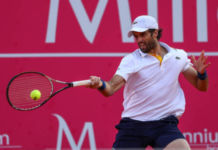 Pablo Andujar at the Rio Open