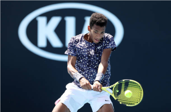 Felix Auger-Aliassime at the Open Sud de France