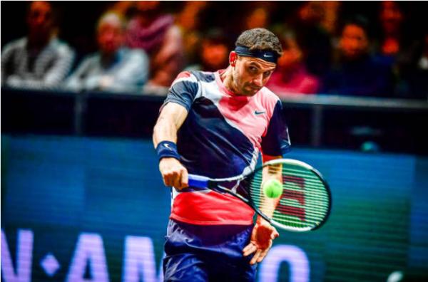 Grigor Dimitrov at the Mexican Open