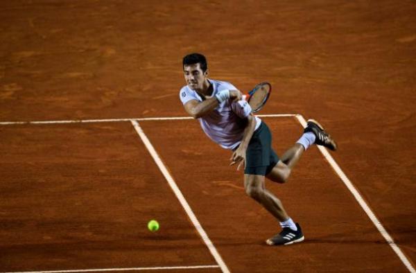 Cristian Garin at the Rio Open
