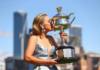 Sofia Kenin with the Australian Open trophy