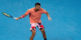 Nick Kyrgios at the Mexican Open