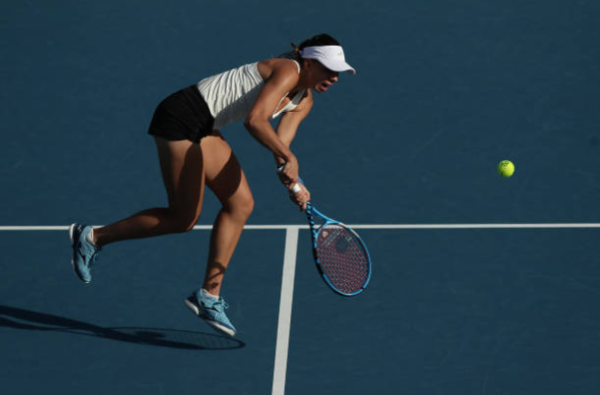 Magda Linette at the Thailand Open