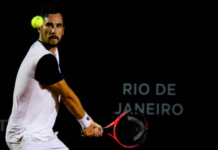 Gianluca Mager at the Rio Open