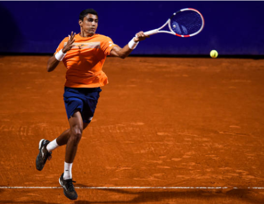 Thiago Monteiro at the Chile Open