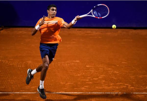 Thiago Monteiro at the Chile Open