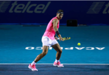 Rafael Nadal at the Mexican Open