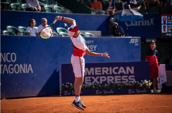 Guido Pella at the Rio Open
