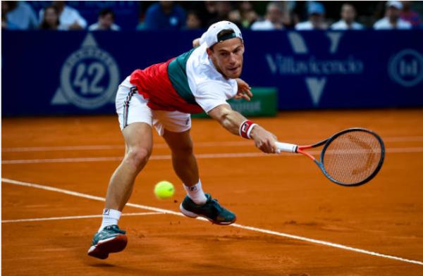 Diego Schwartzman at the Argentina Open