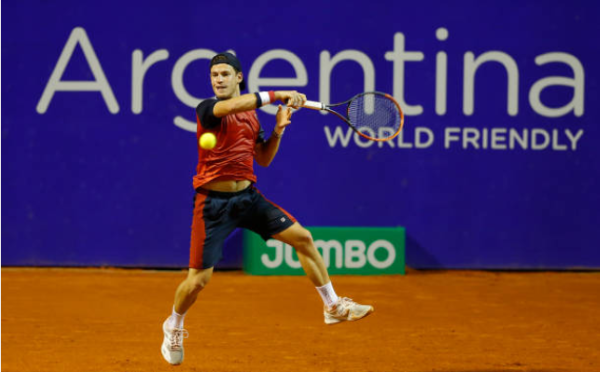 Diego Schwartzman at the Cordoba Open