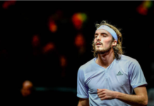 Stefanos Tsitsipas at the Open 13