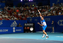 Stan Wawrinka at the Mexican Open