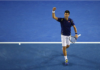 Novak Djokovic at the 2016 Australian Open