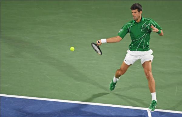 Novak Djokovic, leader of the ATP Power Rankings
