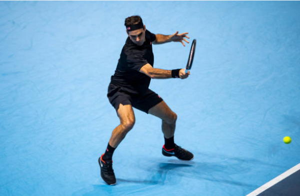 Roger Federer at the 2019 ATP Finals