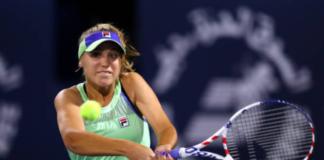 Sofia Kenin at the Lyon Open