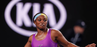 Sloane Stephens at the Monterrey Open