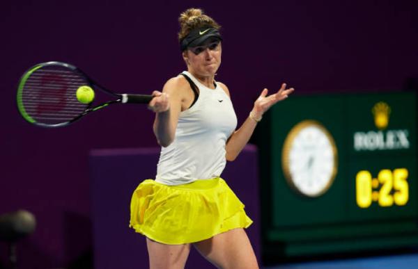 Elina Svitolina at the Monterrey Open