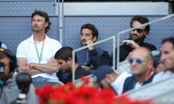 Juan Carlos Ferrero at the Madrid Open