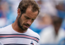 Richard Gasquet defeated at the Cincinnati Masters