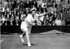 Helen Wills in action at Wimbledon