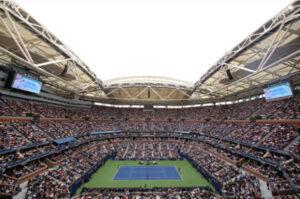Arthur Ashe Stadium at the US Open