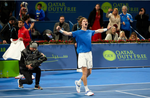 Andrey Rublev wins the Qatar Open