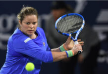 Kim Clijsters in action for the New York Empire