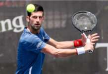Novak Djokovic sits atop the ATP rankings