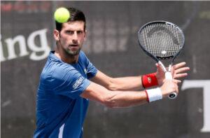 Novak Djokovic sits atop the ATP rankings