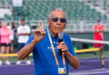 Nick Bollettieri, founder of the Nick Bollettieri Tennis Academy