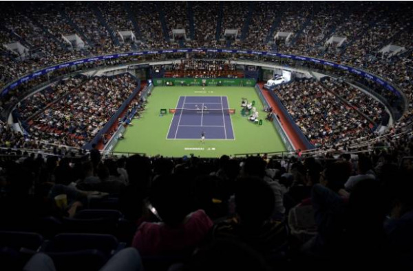 The ATP has cancelled the China Swing, including the Shanghai Masters