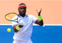 Frances Tiafoe has tested positive for the coronavirus