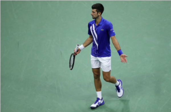 Novak Djokovic Defaulted Out Of Us Open For Hitting Lineswoman With Ball Last Word On Tennis