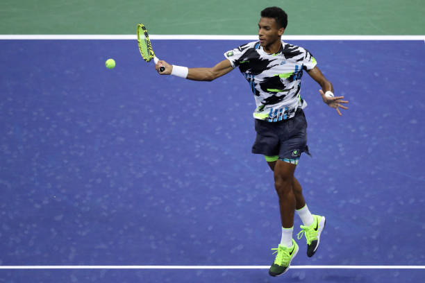 Felix Auger-Aliassime US Open Day 4