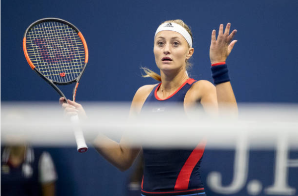 Kristina Mladenovic defeated at the US Open
