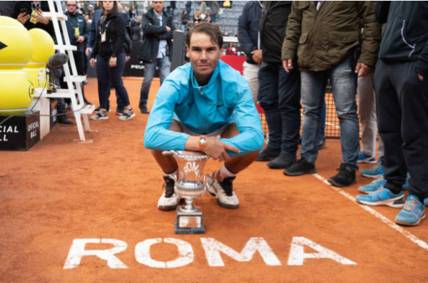 Rafael Nadal, 2019 champion at the Italian Open