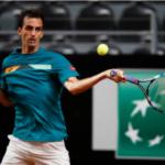 Albert Ramos Vinolas in action ahead of the ATP Hamburg Open
