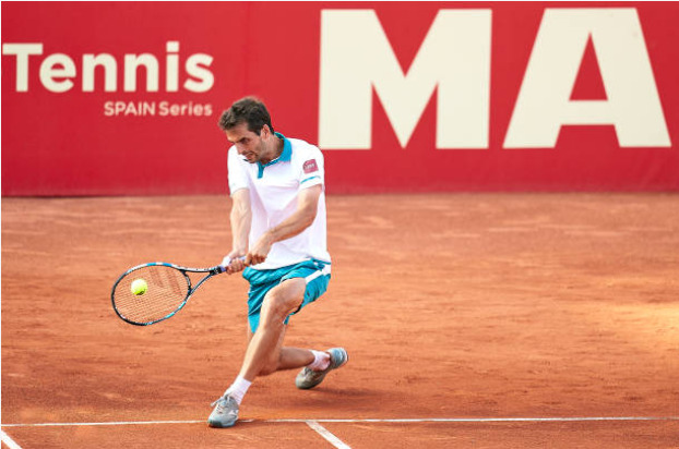 Albert Ramos Vinolas in action ahead of the ATP Kitzbuhel Open