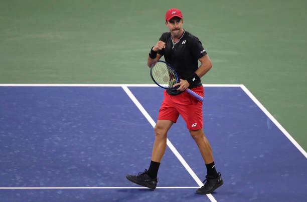 Steve Johnson US Open Round 1 2020