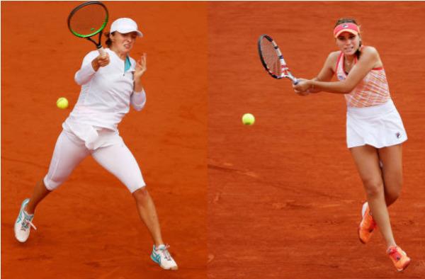 French Open finalists Iga Swiatek and Sofia Kenin