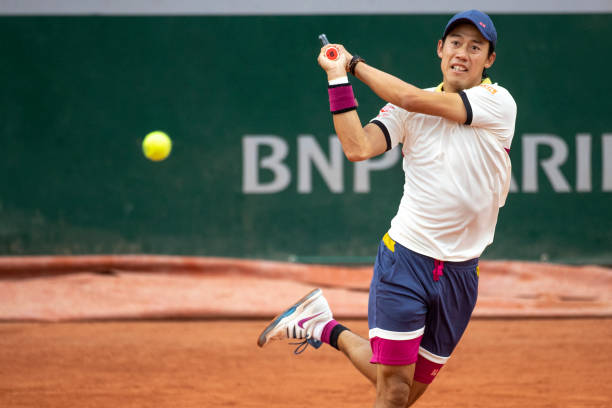 Kei Nishkori 2020 French Open