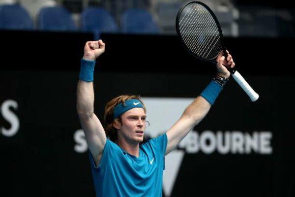 Andrey Rublev Australian Open