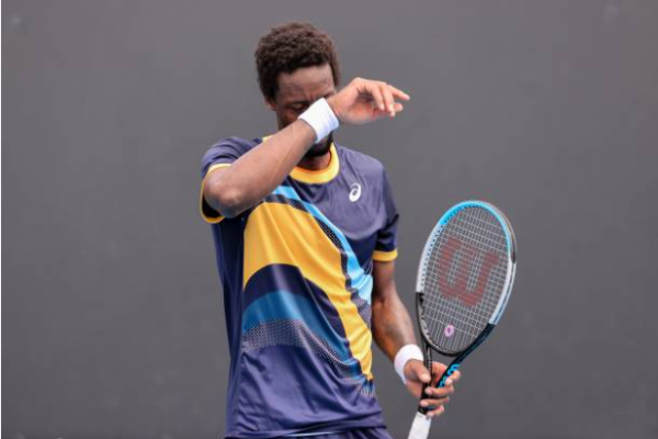 Gael Monfils defeated at the Australian Open
