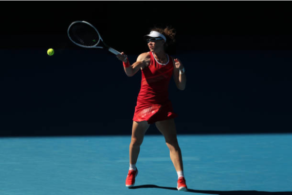 Samantha Stosur in action ahead of the Australian Open