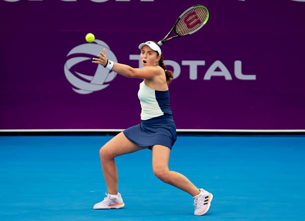 Jelena Ostapenko Doha 2020