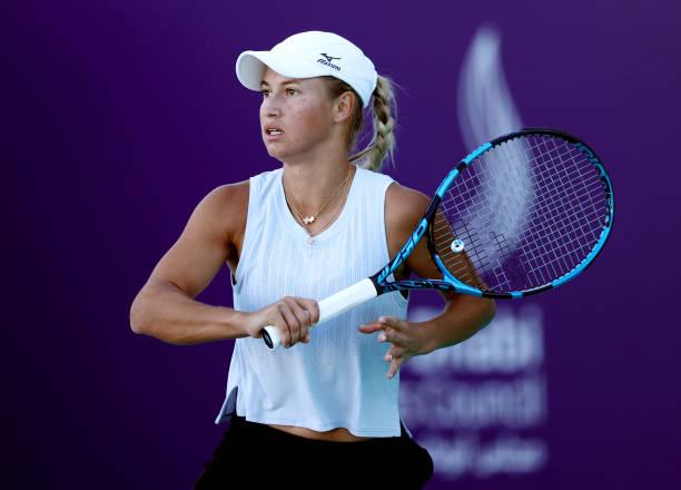 Yulia Putintseva WTA Abu Dhabi 2021